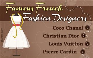 Fashion Designers Buzzle Com
