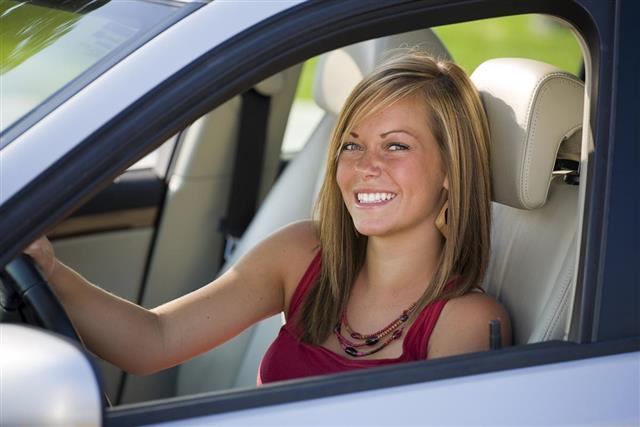 Teenage Girl Driver