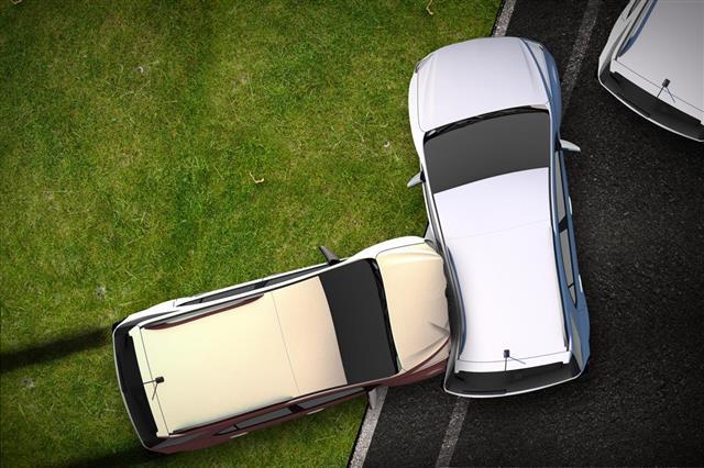 Cars Crash Illustration