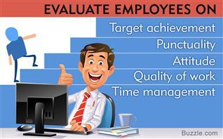 Criteria for employee evaluation