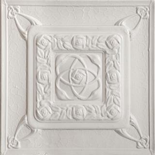 White color tin tile