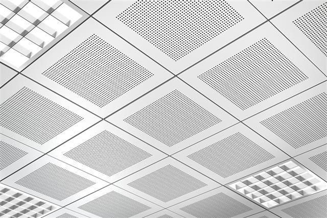 Aluminum panel suspended ceiling