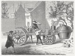 Steam engine vehicle