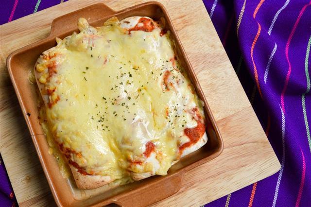 Enchilada Mexican Food