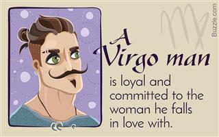 Virgo man slow to commit