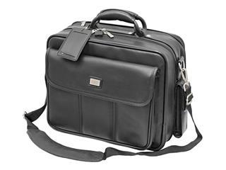 Black notebook bag