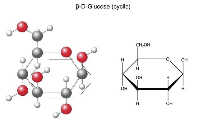 Glucose chemical formula