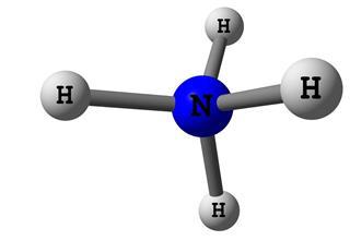 Ammonium molecular structure