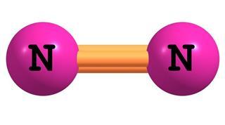 Nitrogen molecular structure