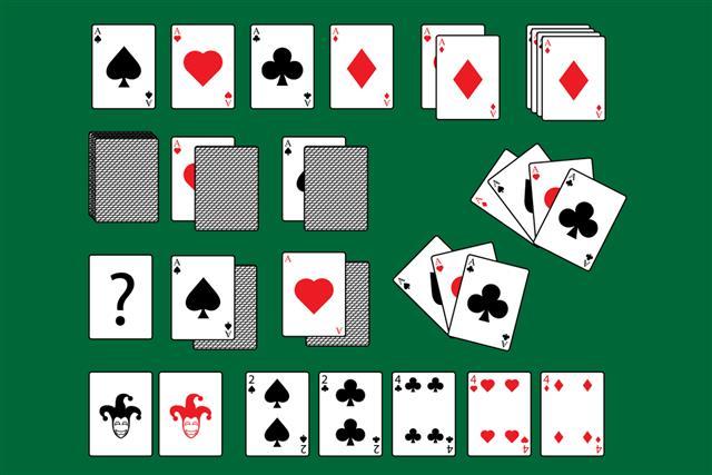 Cards gambling poker