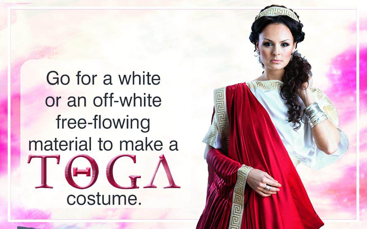 How to make a cute toga dress
