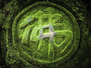 Buddha Chinese character