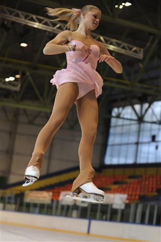 Figure Skating Axel Move