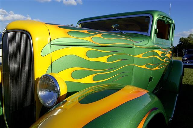 Graphics on Car