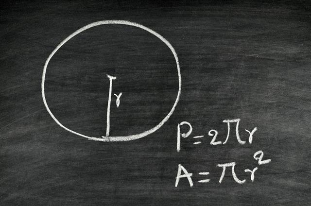 circle area and perimeter formula