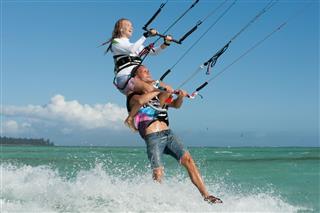 Kitesurfen auf Mauritius