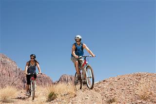 Mountain Biking In Rocky Terrain