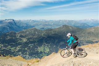 High Altitude Mountainbiking Switzerland