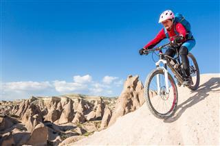 Steep Mountain Bike Downhill