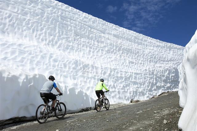 Mountain Biking In Spring