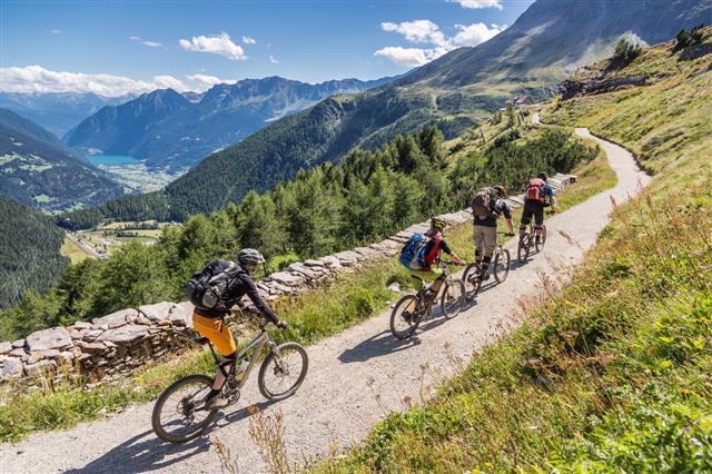Val Poschiavo Downhill Switzerland