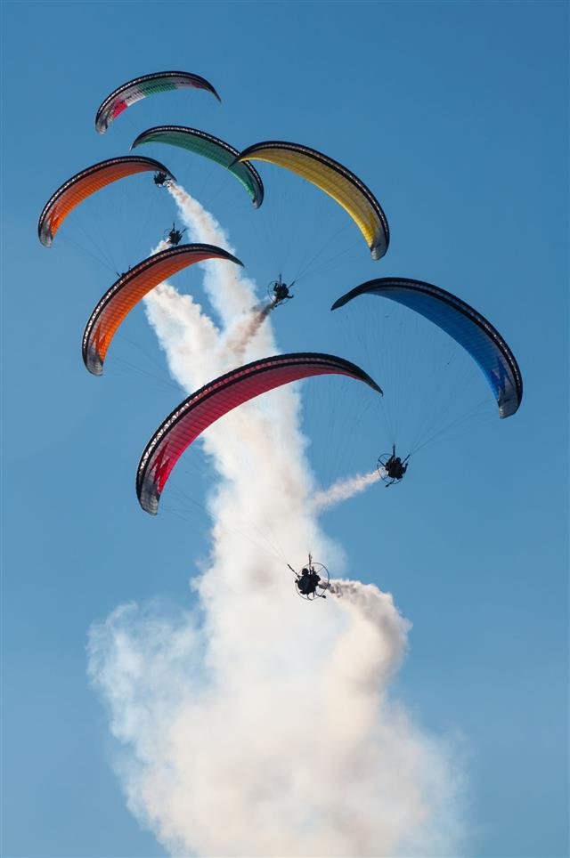 Paragliding Motors Exhibition