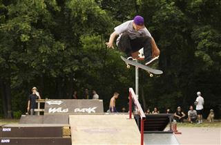 Skate flip jump