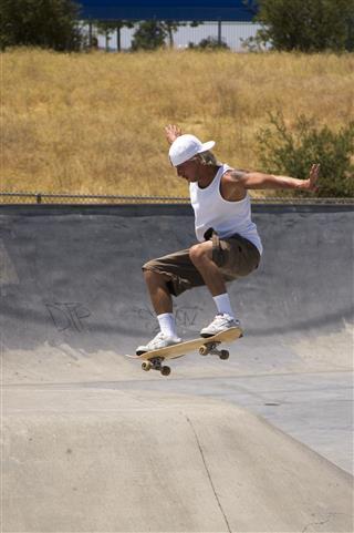 Skater At The Park