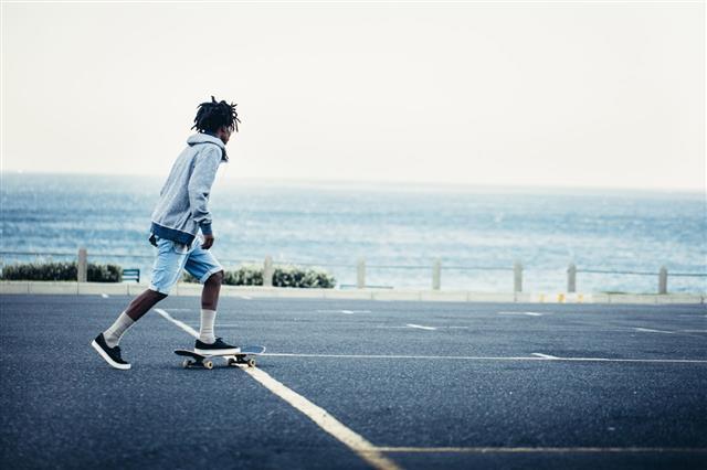 African American Skateboarding