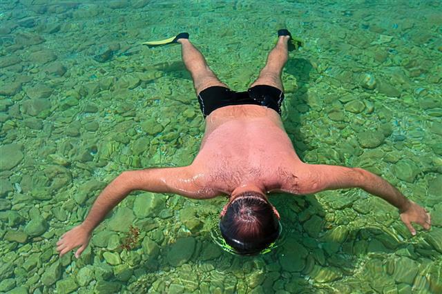 Snorkeling In Adriatic Sea