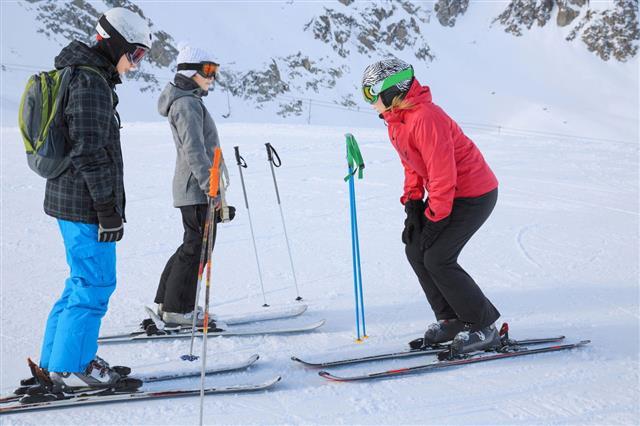 Ski School Snow Skier Instructor
