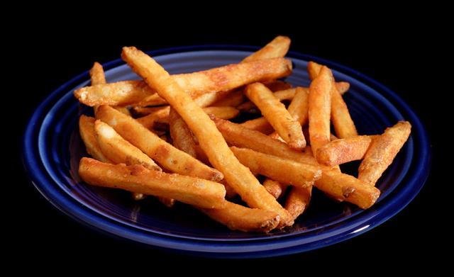 French fries sweet potato