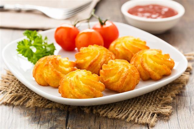 Pommes Duchesse Potato Croquettes