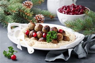 Homemade Swedish Meatballs