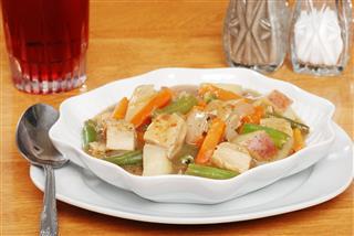 Closeup Chicken Stew