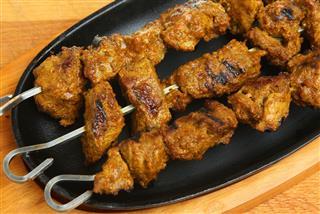 Indian Lamb Tikka Kebabs