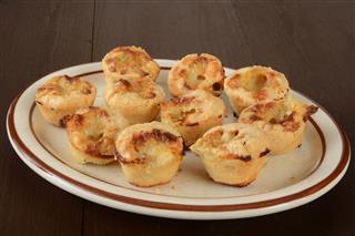 Chicken Pot Pie Appetizers