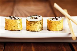 Gold Japanese Sushi