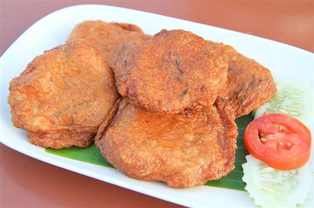 Fried Fish Patty
