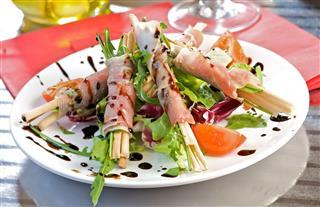 Grissini Stick With Parma Ham