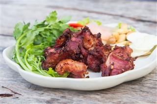 Fried Sour Ribs Pork