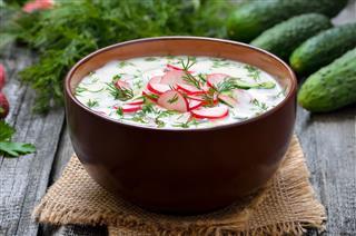 Summer Yogurt Cold Soup