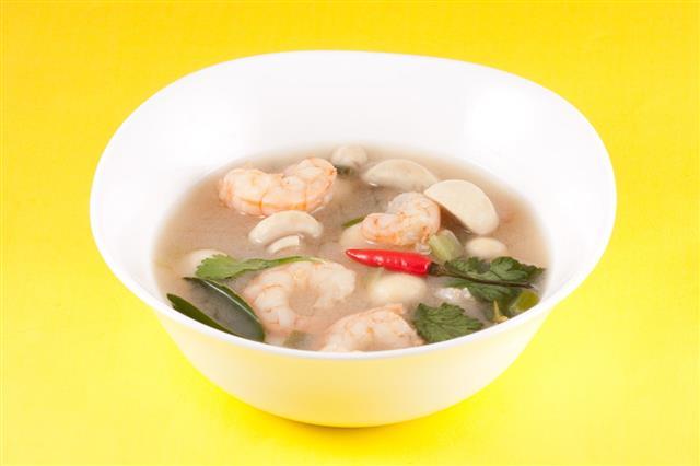 Tom Yam Thai Soup