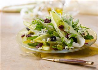Spring Salad Served