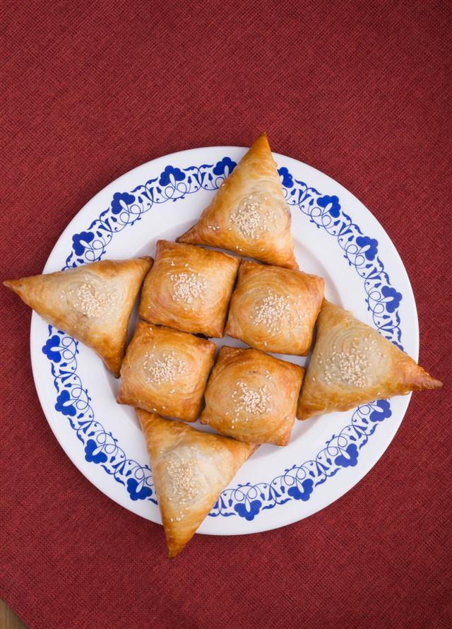 Fresh Baked Samosas