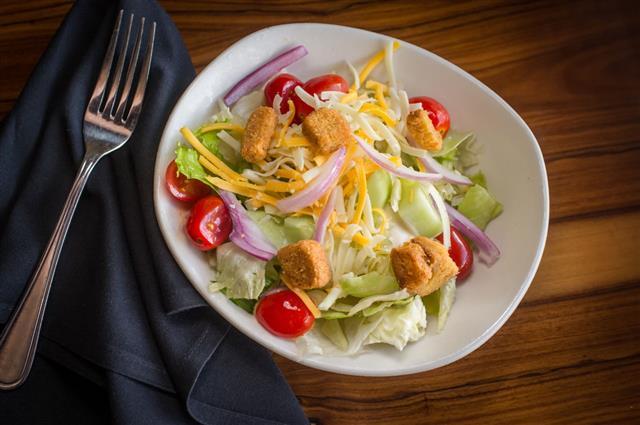 House Vegetable Salad