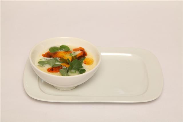 Yogurt Purslane Soup