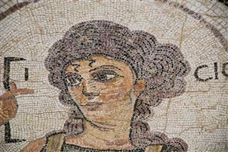 Neutral Color Roman Mosaic