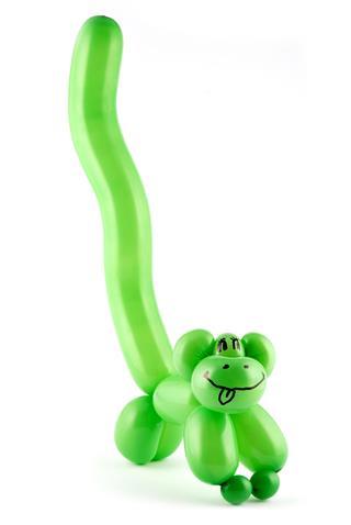 Balloon Monkey Art