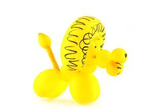 Balloon Lion Art